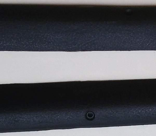 Облицовка передней стойки ВАЗ 2101 ПЛАСТИК (2101-5004060/61) - изображение 3