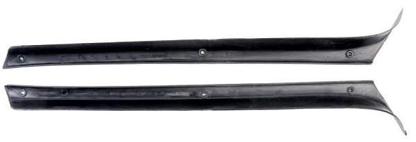 Облицовка передней стойки ВАЗ 2105 (комплект лев.+прав.) ПЛАСТИК (2105-5004060/61) - изображение 1