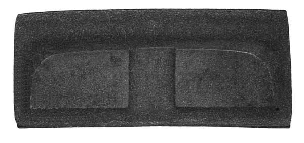 Полка задняя ВАЗ 21099, ПЛАСТИК (21099-5607010) - изображение
