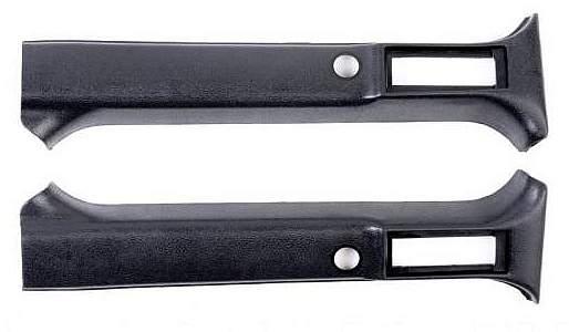 Облицовка средней стойки салона ВАЗ 2121 верхняя (комплект лев.+прав.) ПЛАСТИК (21213-5004070-71) - изображение 1