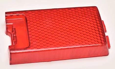 Рассеиватель стоп-сигнала заднего фонаря ВАЗ 21011 красный Рекардо RF00096 (21011-3716070) - изображение