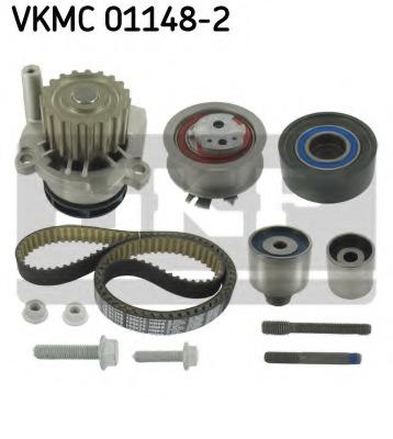 Водяной насос + комплект зубчатого ремня SKF VKMC 01148-2 - изображение 3