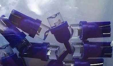 Лампа (LS02) светодиодная Т10 (W2,1-9,5d) синяя 12V без цоколя SKYWAY EXTRA LIGHT S08201139 - изображение 1