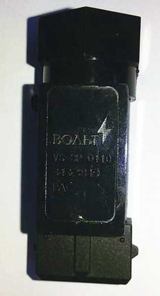 Датчик скорости ВАЗ 2110-2112, 2113 плоск.разъем, без провода STARTVOLT VS-SP 0110 (2110-3843010-13) - изображение 5