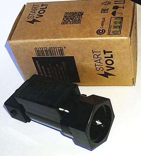 Датчик скорости ВАЗ 2110-2112, 2113 плоск.разъем, без провода STARTVOLT VS-SP 0110 (2110-3843010-13) - изображение