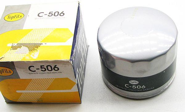 Фильтр масляный C-506 TopFils - изображение 1