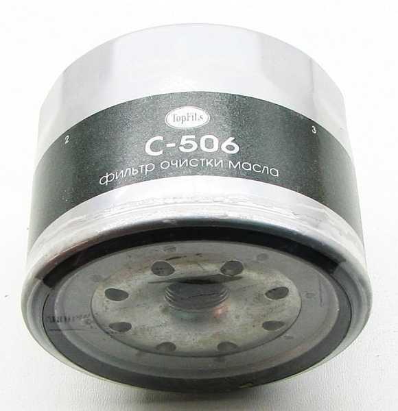 Фильтр масляный C-506 TopFils - изображение