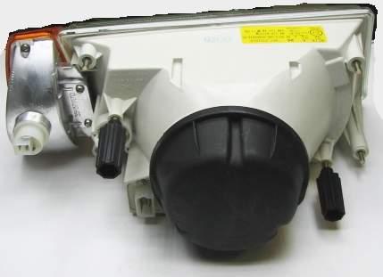 Блок-фара ВАЗ 2108, 2109, 21099 левая желт.указатель поворота Киржач 351.3711010 (2108-3711071) - изображение 1