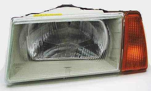 Блок-фара ВАЗ 2108, 2109, 21099 левая желт.указатель поворота Киржач 351.3711010 (2108-3711071) - изображение 2
