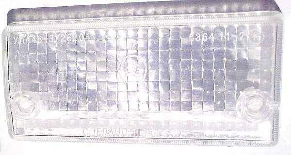 Стекло подфарника ВАЗ-2101 белое УП-148 (2101-3712070) - изображение 1