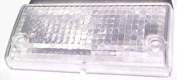 Стекло подфарника ВАЗ-2101 белое УП-148 (2101-3712070) - изображение