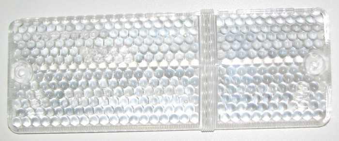 Стекло подфарника ВАЗ-2106 правое белое (2103-3712070) - изображение