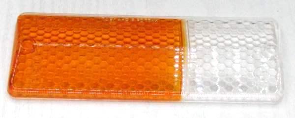 Стекло подфарника ВАЗ-2106 правое желтое (2103-3712070) - изображение