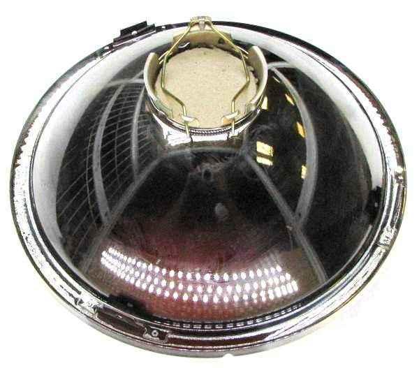 Фара ВАЗ 2101, 2121 №6209 под лампу H4, без отсекателя, без габарита 09.3711200-09 (2101-3711510-09) - изображение 1