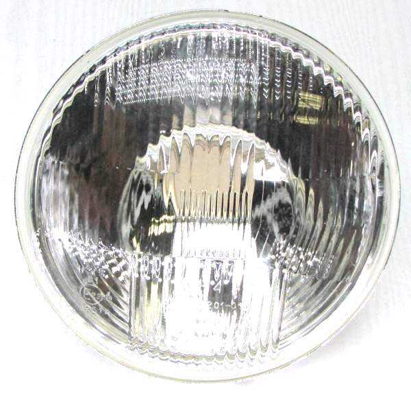 Фара ВАЗ 2101, 2121 №6209 под лампу H4, без отсекателя, без габарита 09.3711200-09 (2101-3711510-09) - изображение