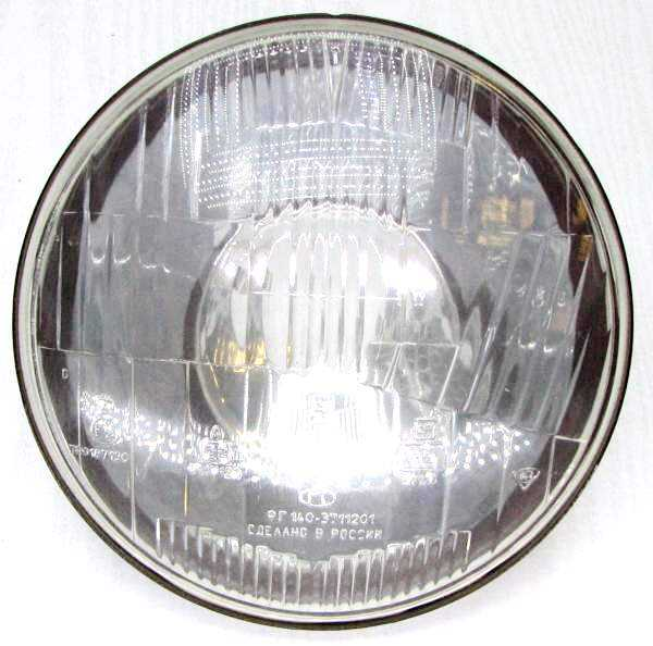Фара ВАЗ 2101 ФГ №140 под лампу стар.образца, без отсекателя, без габарита (2101-3711510-00) - изображение