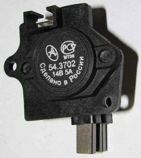 Регулятор напряжения ВАЗ 2108 нового образца АСТРО 54.3702 (с генер.371.3701) - изображение
