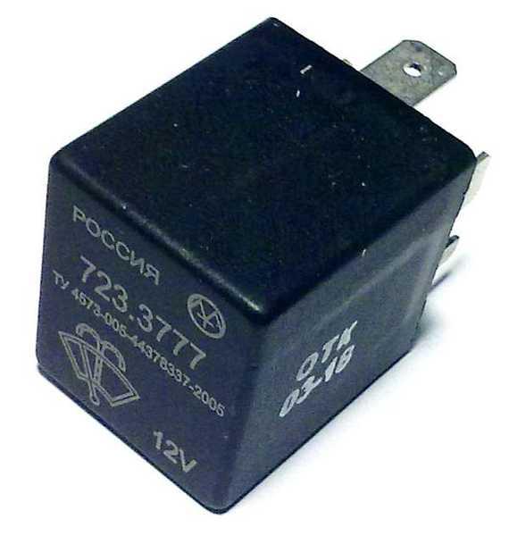 Реле стеклоочистителя ВАЗ 2108-2115 нов.образца АСТРО 41.3777 (аналог 723.3777) - изображение