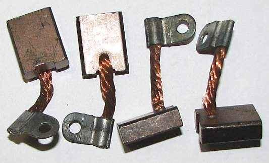 Щетки стартера ВАЗ 2101 комплект 4 шт (2101-3708340) - изображение