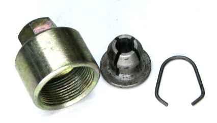 Колпак и штуцер натяжителя цепи ГРМ ВАЗ 2101 (2101-1006078) - изображение