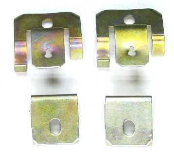 Комплект крепления ободов фар ВАЗ 2101 - изображение