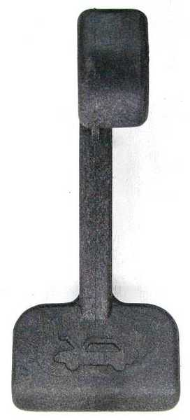 Ручка открывания капота ВАЗ 2108 (2108-8406072) - изображение
