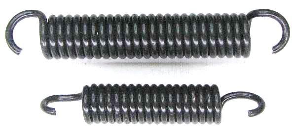 Пружины задних тормозных колодок ВАЗ 2101 (2101-3502035/38) - изображение