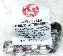 Колпачки маслосъемные ВАЗ 2101, SM (2101-1007026) - изображение 1