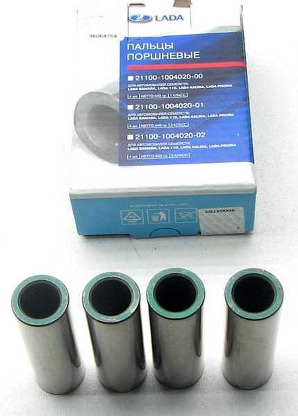 Пальцы поршневые ВАЗ 2101 зеленые, ТЗА упаковка СТК (21213-1004020-01) - изображение