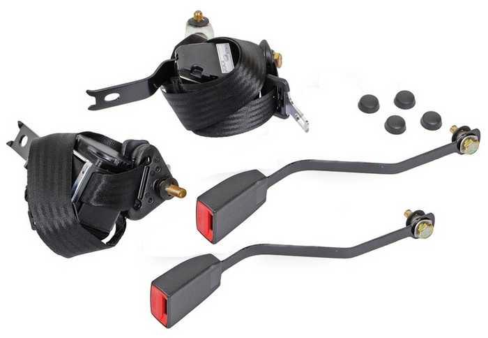 Ремни безопасности инерционные передние ВАЗ 2101-2107 - изображение