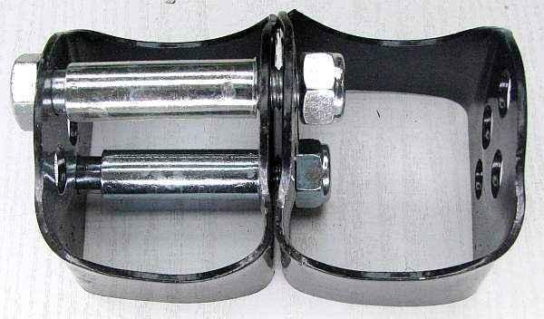 Проставки задней стойки ВАЗ 2108 круглые (комплект 2шт) усиленные - изображение