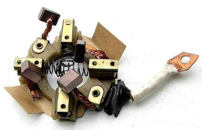 Щеточный узел стартера ВАЗ 2110 нового образца 57.3708 - изображение