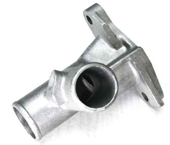 Патрубок головки блока ВАЗ 2101 алюминий (2101-1303014) - изображение 2