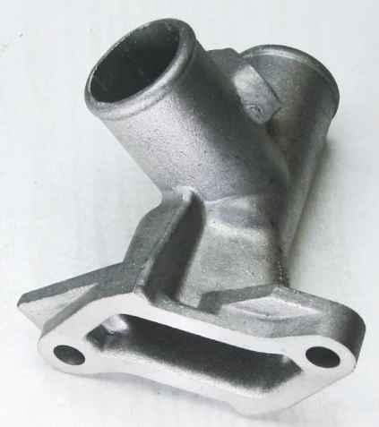 Патрубок головки блока ВАЗ 2101 алюминий (2101-1303014) - изображение