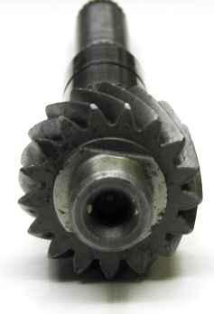 Вал вторичный КПП ВАЗ 21083, 17 зубов, ТЗА (21083-1701105-31) - изображение 1