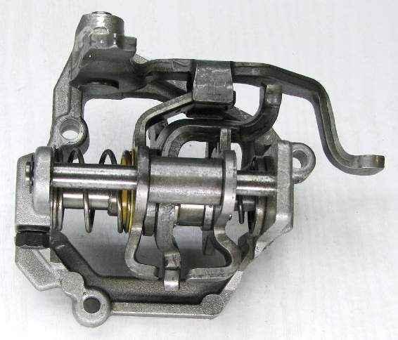 Механизм выбора передач ВАЗ 2110 (2110-1703050) - изображение