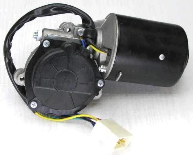 Мотор стеклоочистителя ВАЗ 2108, ГАЗ 2410, 3110, М-2141 HOFER HF744122 (2108-3730000) - изображение 1