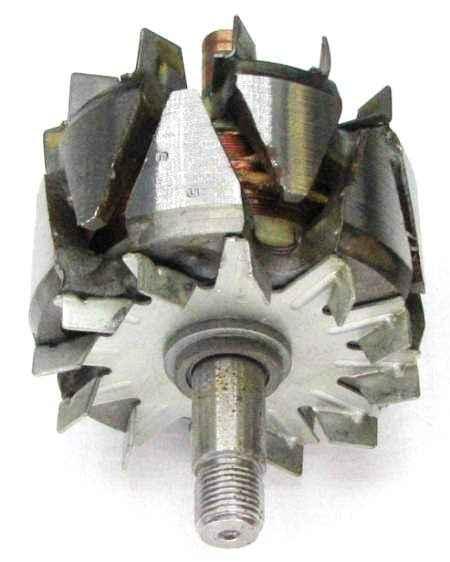 Ротор генератора ВАЗ 2112 нового образца (шейка 17 мм) 2112-3701200 - изображение 1