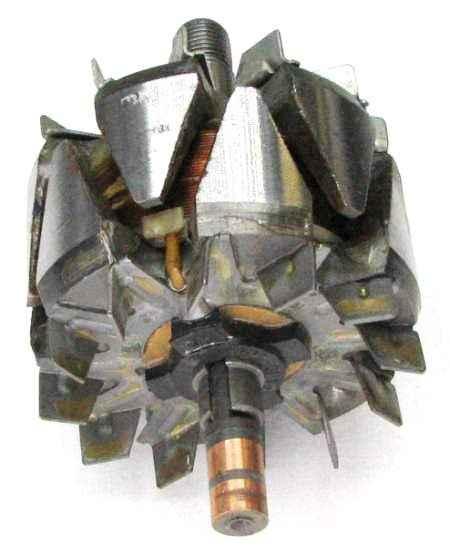 Ротор генератора ВАЗ 2112 нового образца (шейка 17 мм) 2112-3701200 - изображение 2