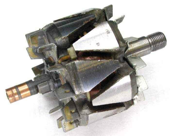 Ротор генератора ВАЗ 2112 нового образца (шейка 17 мм) 2112-3701200 - изображение
