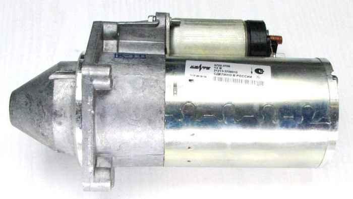 Стартер ВАЗ 2101-2107, 21213, 2123 редукторный КЗАТЭ 5722.3708 (21213-3708010) - изображение