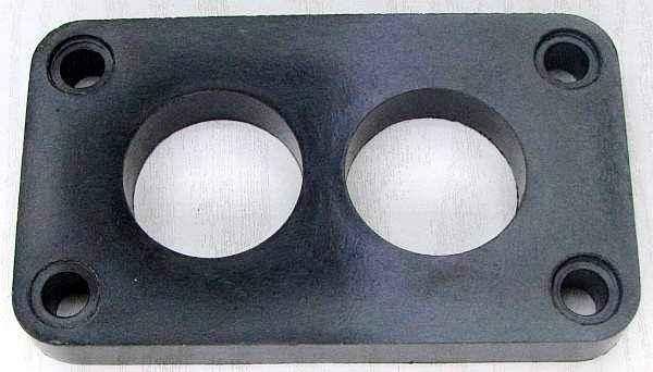 Проставка карбюратора ВАЗ 2108 теплоизоляционная 13мм (2108-1107016) - изображение