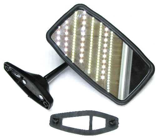 Зеркало наружное ВАЗ 2106 матовая крышка ГрандРиАл (21011-8201050) - изображение