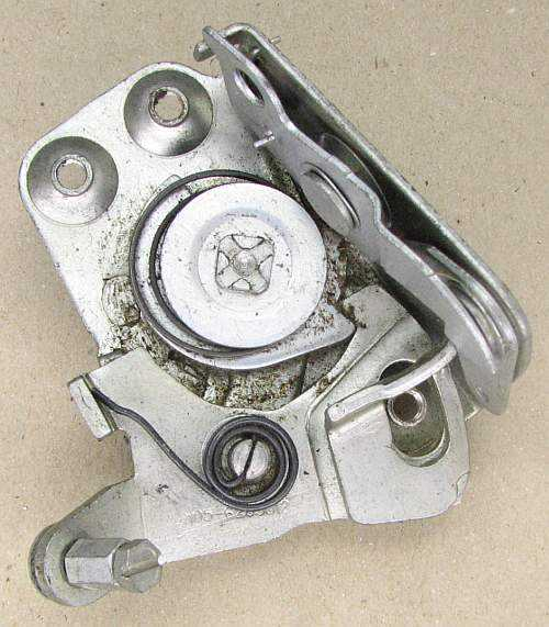 Механизм замка двери ВАЗ 2105 задний правый (2105-6205012) - изображение