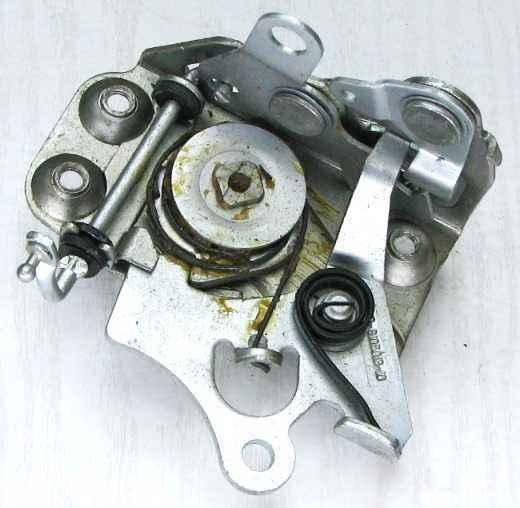 Механизм замка двери ВАЗ 2105 передний левый (2105-6105013-10) - изображение