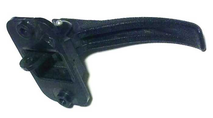 Ручка открывания двери салона ВАЗ 2108 пластик (2109-6105180) - изображение 3