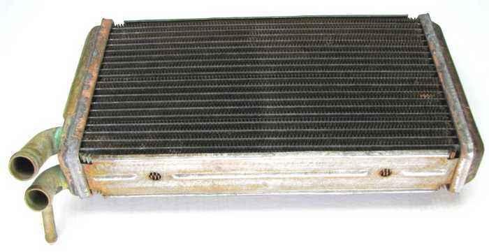 Радиатор отопителя ВАЗ 2110 медь (2110-8101050) - изображение