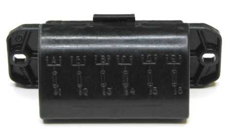 Блок предохранителей ВАЗ 2101, 2103, 2106 малый ПР-120 (2106-3722100) - изображение 2
