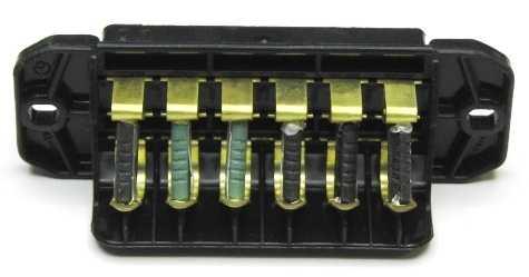 Блок предохранителей ВАЗ 2101, 2103, 2106 малый ПР-120 (2106-3722100) - изображение