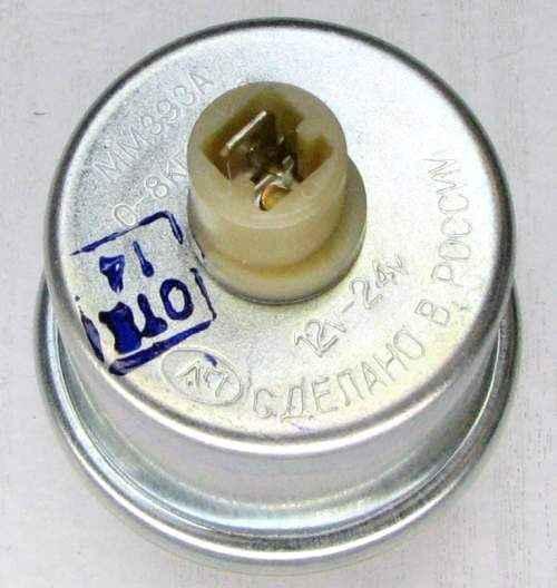 Датчик давления масла ВАЗ 2103, 2106, 2121 Нива ПЕКАР ММ393А-3829010 (2103-3810300) - изображение 2